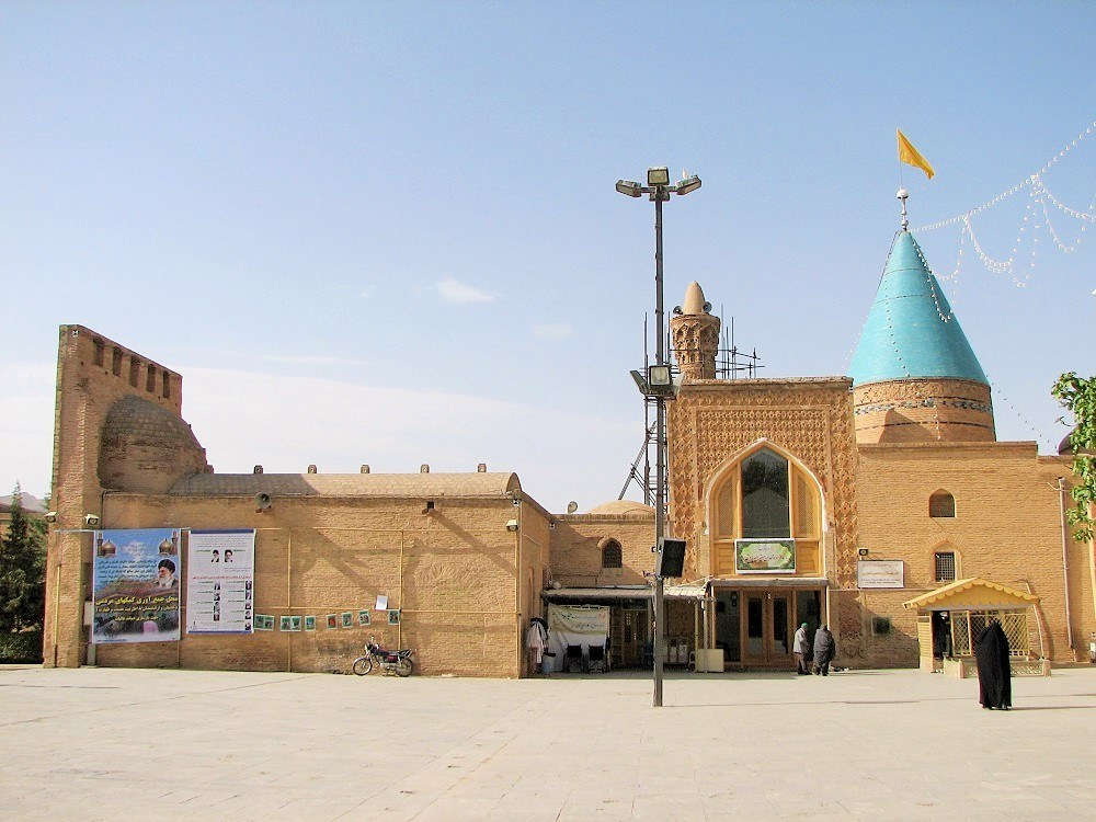 General view of Bastam Friday Mosque