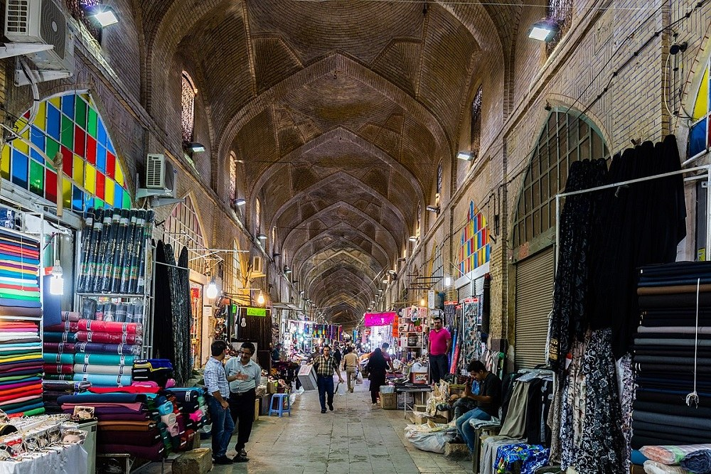 Bazaar of Qaisariye in Lar, a Bazaar Archetype | Destination