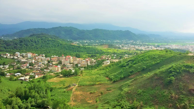 Hyrcanian Forests in Gilan Province