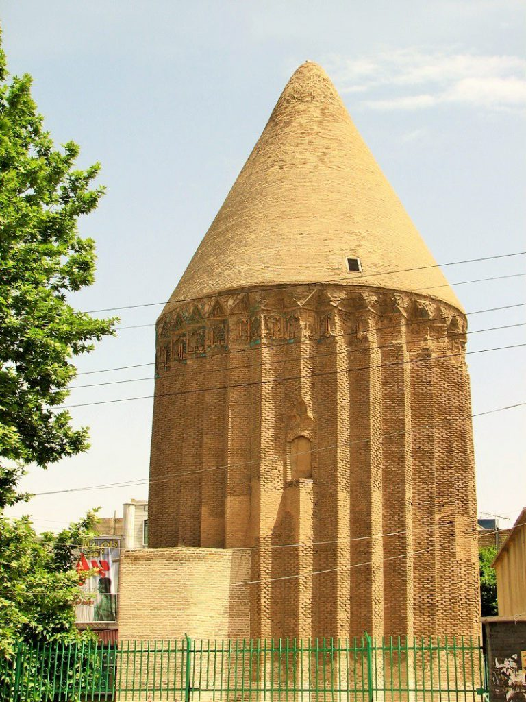 Aladdin Tomb Tower in Varamin