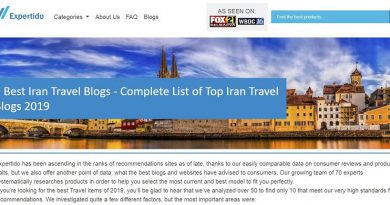 Best Iran Travel Blog Featured by Expertido