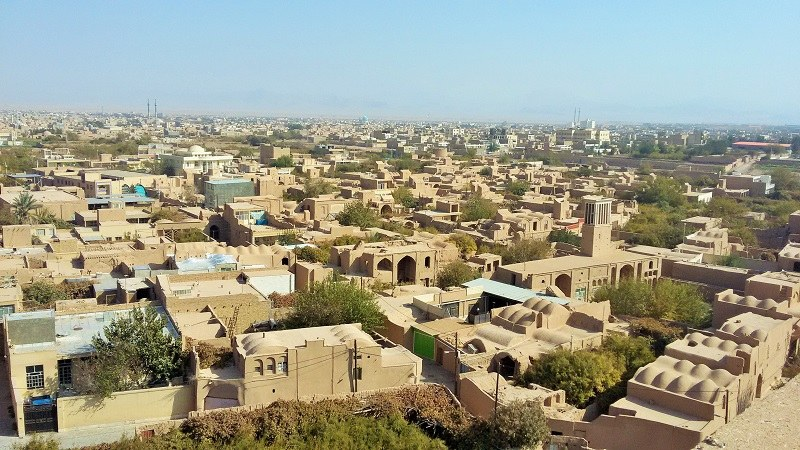 Historical City of Meybod from Above