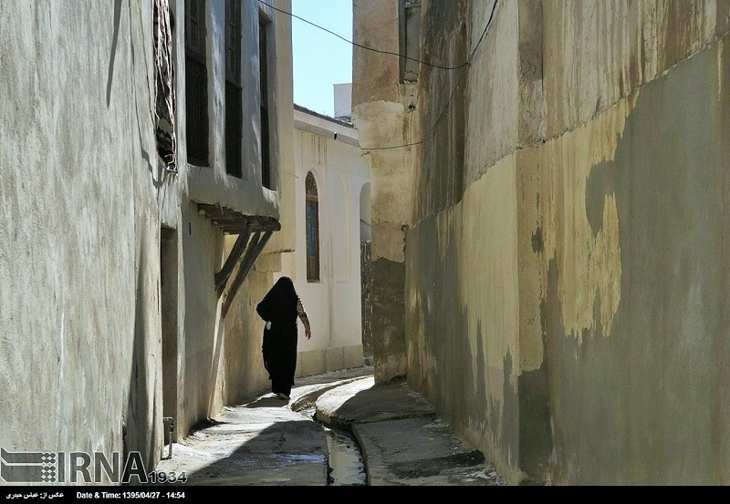 Old Traditional Part of Bushehr