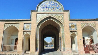 Semnan Tourist Attractions: Arg Gate