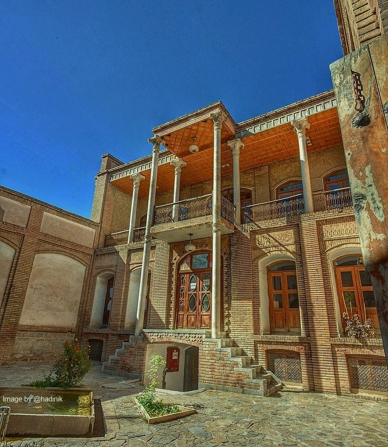 Sanandaj Historical Attractions: Asef Vaziri Mansion