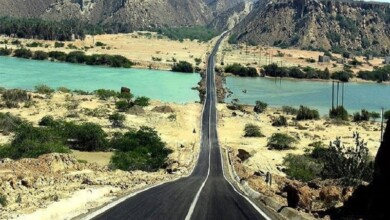Chabahar Natural Attractions: Chabahar Seaside Road