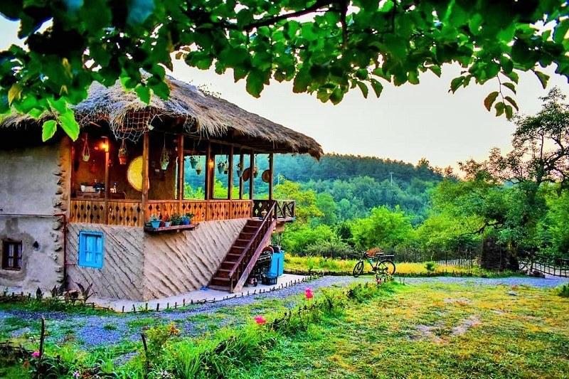 Behesht ecolodge in Gilan, Iran