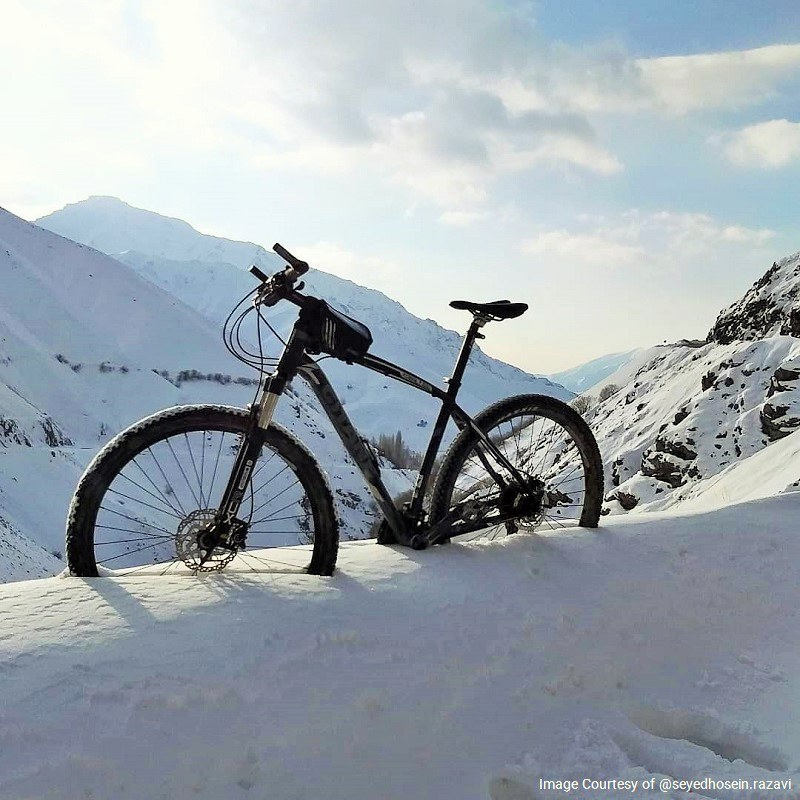 Best Winter Tours of Iran: Skiing & Bicycle Riding