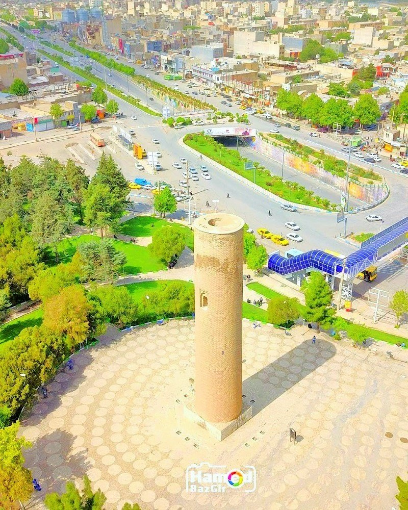 Khorramabad Historical Attractions: Brick Minaret
