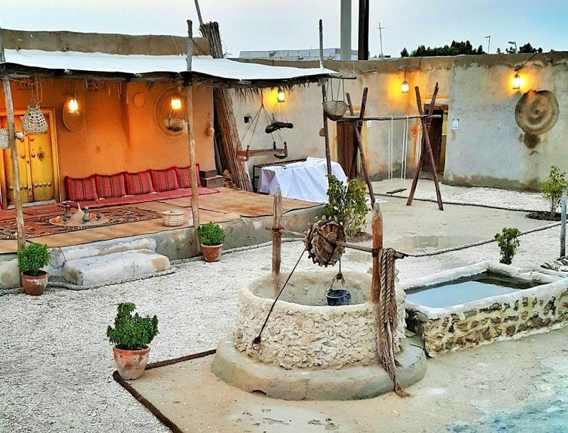 Kish historical attractions: Baqu village