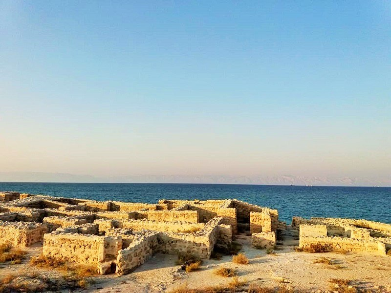 Kish historical attractions: Harireh city
