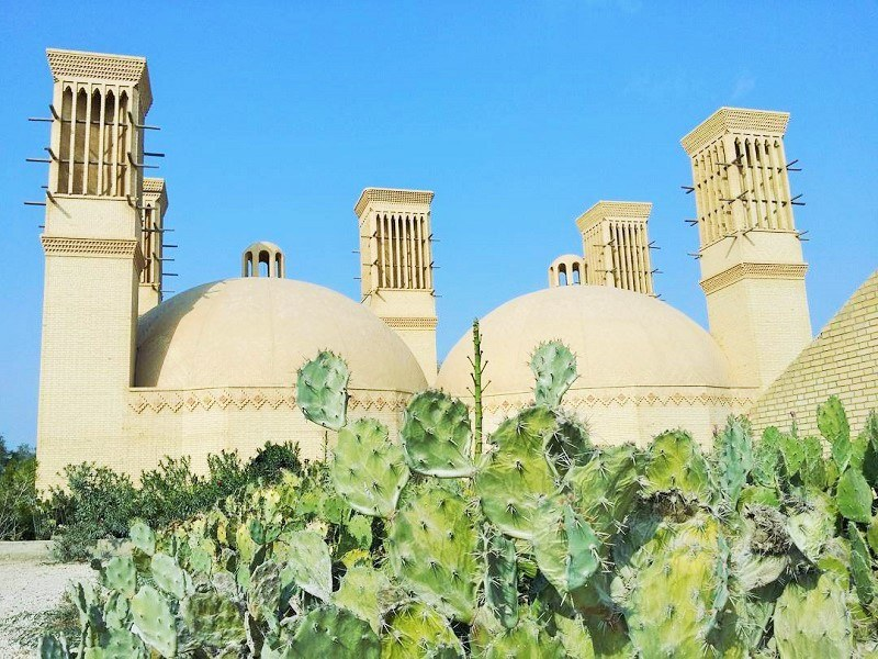 Kish historical attractions: twin water reservoir