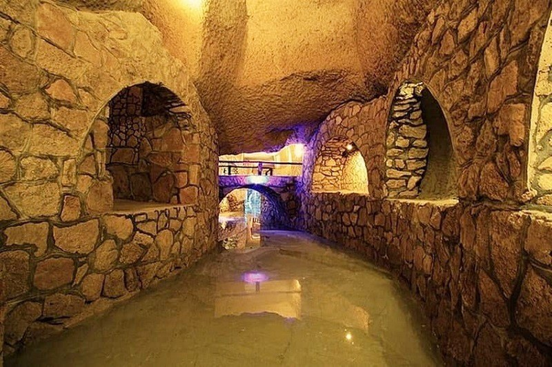 Kish tourist attractions: Kariz (Qanat)