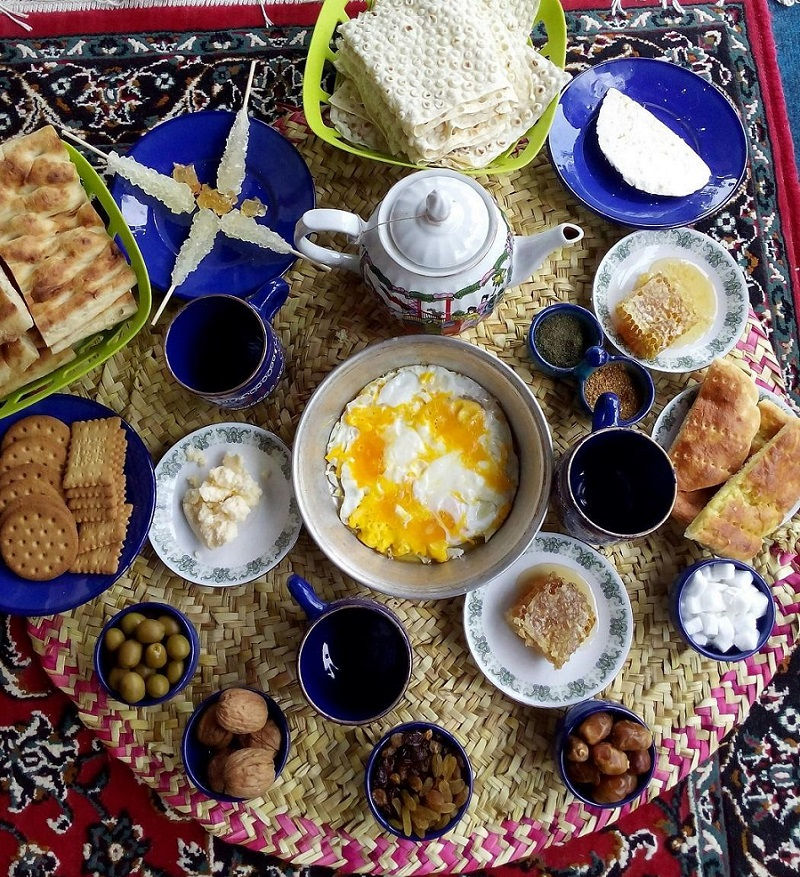Bed and Breakfast Plan Iran Tour Packages