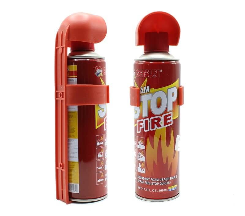 fire extinguisher capsule for fire prevention in nature