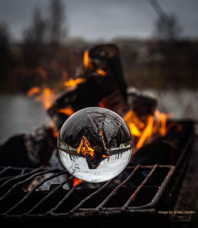 magnifier role and fire responsible tourism
