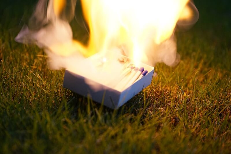 matches fire responsible tourism