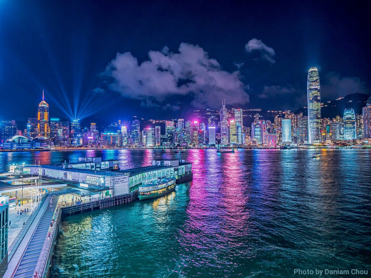 Travel to HongKong by Cathy Pacific